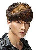 男士C型纹理烫设计 男生纹理烫c型发型图片