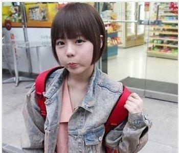 好看的学生短发型 适合娃娃脸的短发发型图片