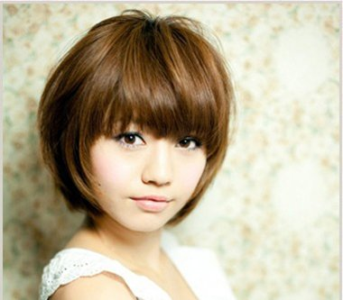 脸大适合什么短发发型 适合大脸女孩的时尚短发发型图片