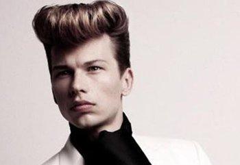 沙宣男生板寸发型 生活化的欧美男士沙宣发型图片[沙宣发型]-潮男发型图片