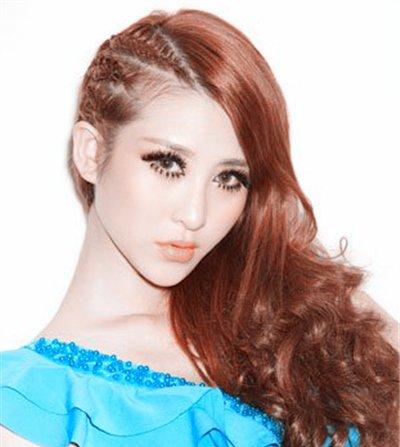 各种蜈蚣辫时尚发型 蜈蚣样式发型图片