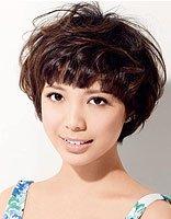 25岁大脸女人容易打理的居家的发型 女性简单易打理的发型设计