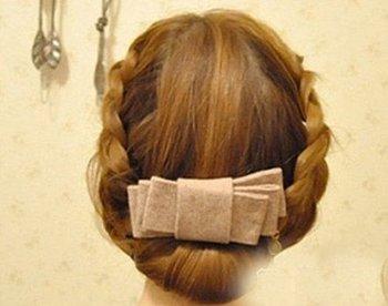 五指辫扎辫子的发型步骤 时尚辫子发型设计