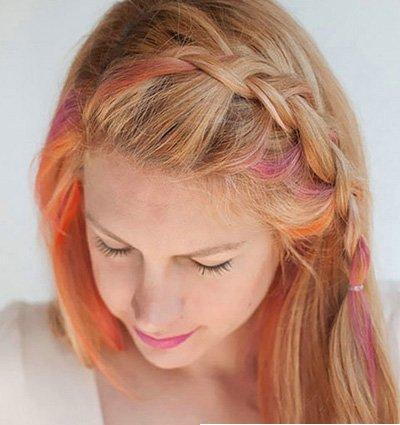儿童短发怎样编出漂亮麻花辫 儿童短发麻花辫的编法图解
