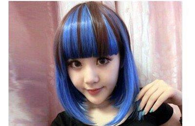 短发发型适合挑染吗 短发烫染发型图片