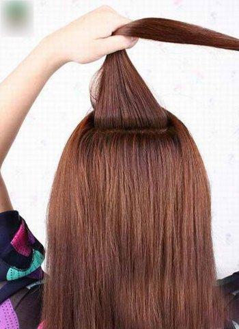 蝎子辫发型半扎发技巧 蝎子辫发型图解