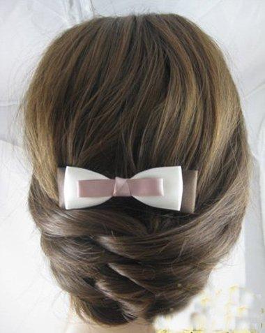 鱼尾辫编法图解 小女孩的鱼尾辫发型设计