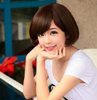 脸小的女孩适合的短发发型图片 小脸女孩简单短发发型设计
