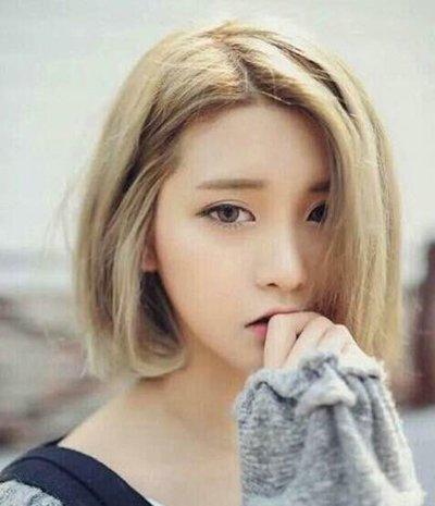 最流行的韩式BOBO发型 时尚BOBO头发型图片