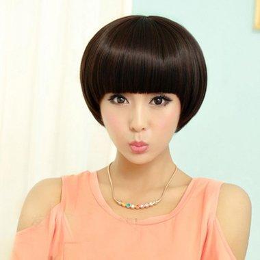 圆脸短发发型设计 好看圆脸短发发型图片