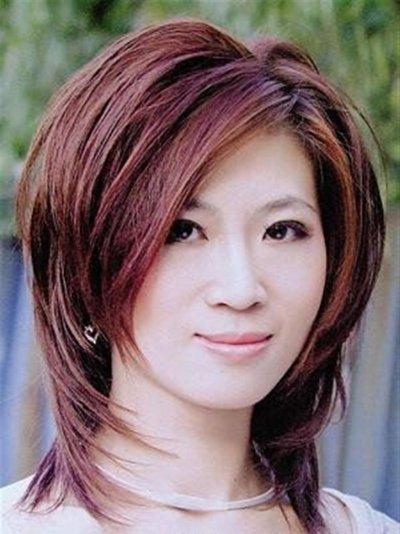 2017女士纹理发型图片 女人短发烫发纹理发型