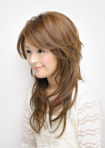 中老年35-50岁流行女士发型 女性中老年人卷发发型图片