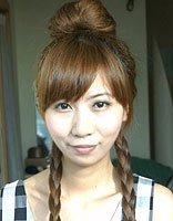 简单的直发两侧麻花辫 两侧麻花辫子发型图片