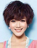 大圆脸的短发发型设计 适合圆脸的魅力短发发型图片