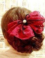 直发花苞头扎法步骤图解 扎直发花苞头扎发方法