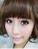 大脸适合的盘发发型 大脸女孩时尚盘发发型设计