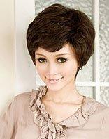 老年女性短发烫发发型 中老年女短发烫发发型图片
