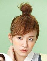 头发中短发怎么弄刘海和花苞头才好看 中短发花苞头发