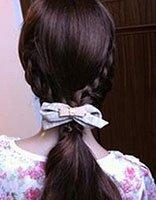 简单居家编麻花辫发型 成人麻花辫发型图解