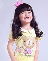 脸圆的小学生适合什么发型 小女孩圆脸适合的可爱发型