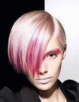 短头发染啥颜色好看 时尚短发染发发型设计