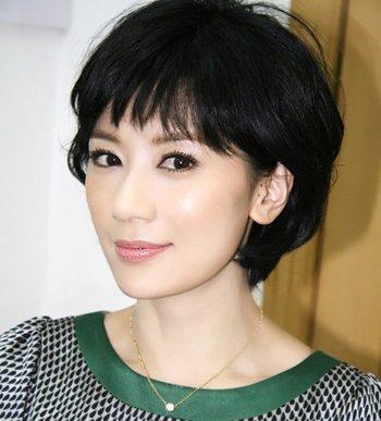 发型热点 > 气质发型 >   中年女性短发剪哪种比较好看呢?图片