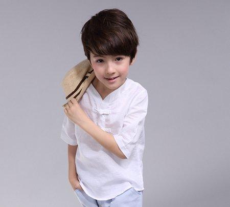 男孩子小朋友发型 2017儿童男发型