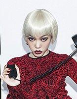 菱形脸适合什么样的中发发型 中短发发型图片菱形脸