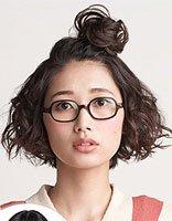 初中短头发的扎法图解 初中生短发扎头发