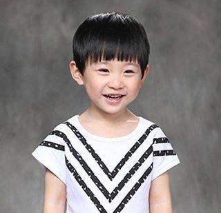 3岁男孩短发发型图片大全 2岁-3岁小男孩时尚发型图片