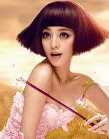 蘑菇头发型怎么烫卷 女生蘑菇头锡纸烫发型图片