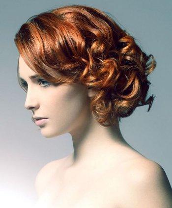 螺旋卷短发发型图片 16年最新螺旋卷发型大全