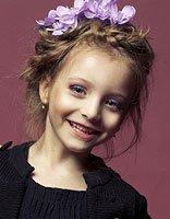 9到11岁小孩怎样扎出刘海麻花辫子 漂亮可爱女孩辫子发