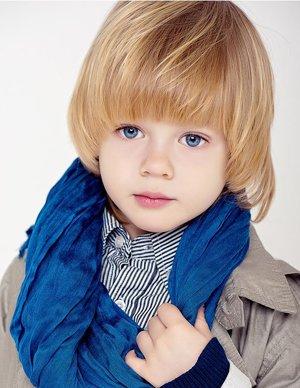 适合3岁男宝宝的发型带图片 3到5岁男孩发型图片图片