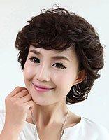 中年圆脸有什么适合的发型 50中年圆脸妇女发型