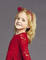 小女孩蛋卷烫发型图片 儿童可爱蛋卷头发型