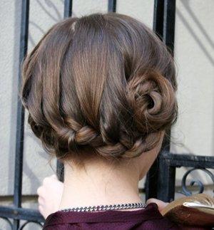 头发少的花苞头扎法 头发少的女生怎么梳花苞头