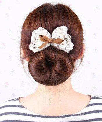 花苞头盘发器什么样的好用 花苞头盘发器用法图解