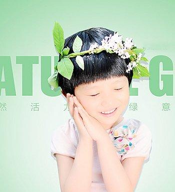 小孩是蘑菇头要统一扎在左面怎么扎 女孩蘑菇头的扎发发型