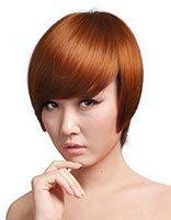 沙宣短发不等式发型 沙宣短发烫发发型