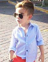 3岁男孩发型图片 韩国3岁男宝宝发型
