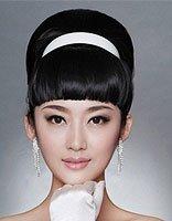 韩式女生参加晚宴的发型图片有哪些 另类创意晚宴发型