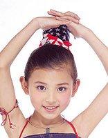 现在怎样给8岁女童扎发型 儿童学生头扎头发图解