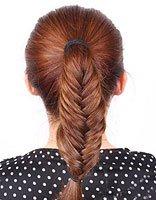 可以自己编的鱼骨辫发型步骤 鱼骨辫发型扎法步骤