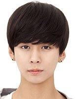 男士假发蘑菇头短发发型图片 男生可爱蘑菇头发型图片