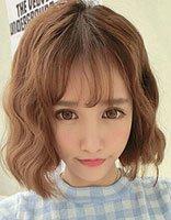 脸尖的女孩配什么短发发型 脸尖适合空气刘海吗