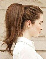 美人尖扎发发型 适当各种场合扎的发型