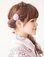 平刘海怎么扎出韩范儿感觉 韩式平刘海发型扎法