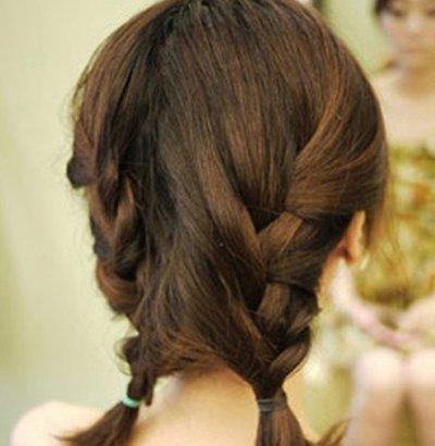 怎么样编织女孩发型 小女孩发型编辫子方法