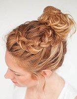 中年人发型盘发步骤 中年妇女自己盘发方法